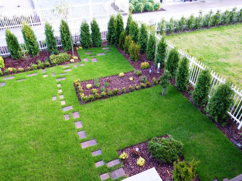 Gardenart Projektowanie Ogrodów Ogród Geometryczny Warszawa